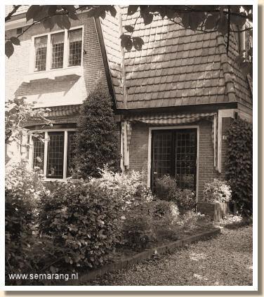 Huis van Olaf J. de Landell, Javalaan nr. 11 te Hilversum
